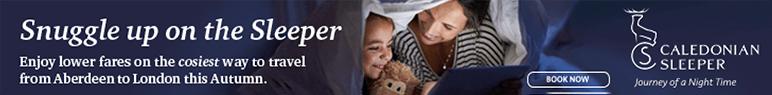 Caledonian Sleeper online ad