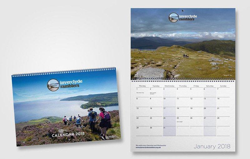 Inverclyde Ramblers' 2018 Calendar