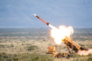 Patriot GEM-T Missile Launch