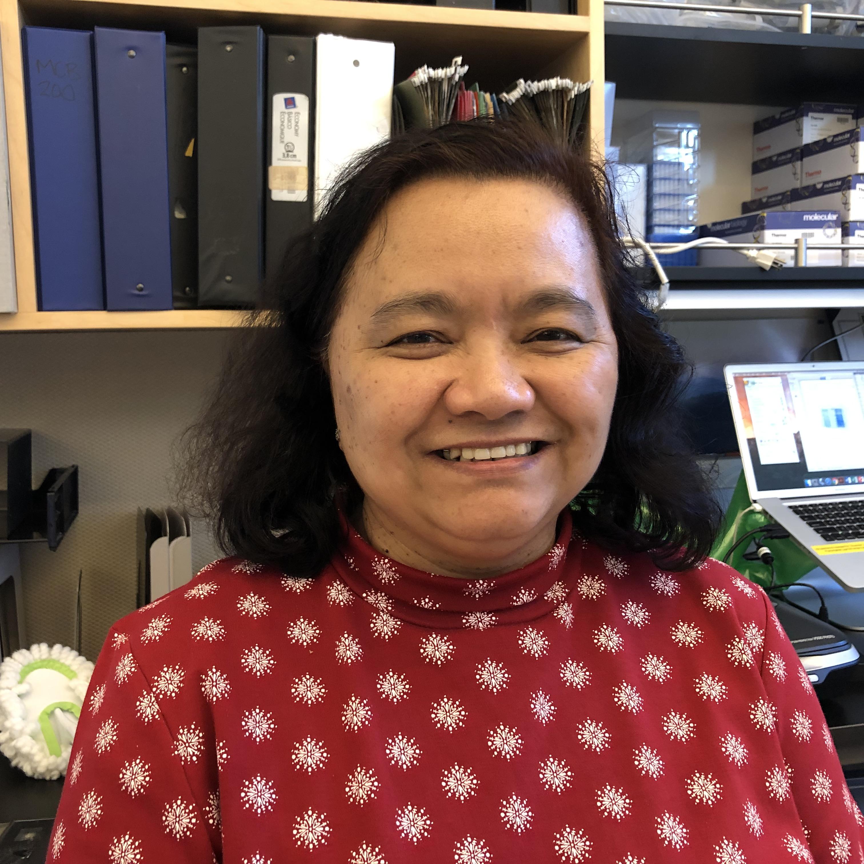 Eva Borbon  Laboratory Assistant