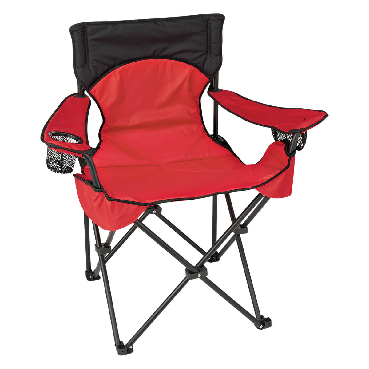 custom folding chairs stretch covers for wingback uk red padded