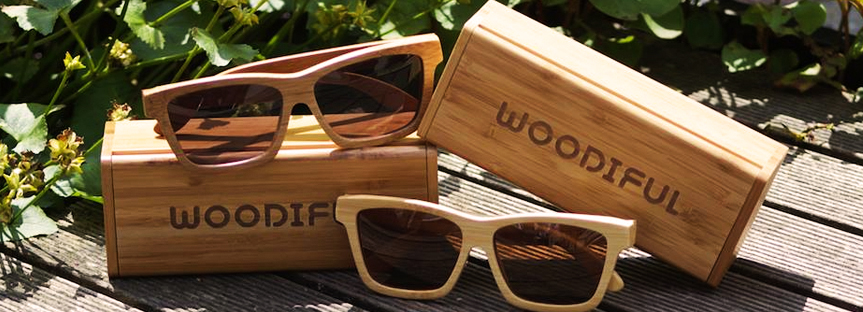 houten zonnebril van woodiful