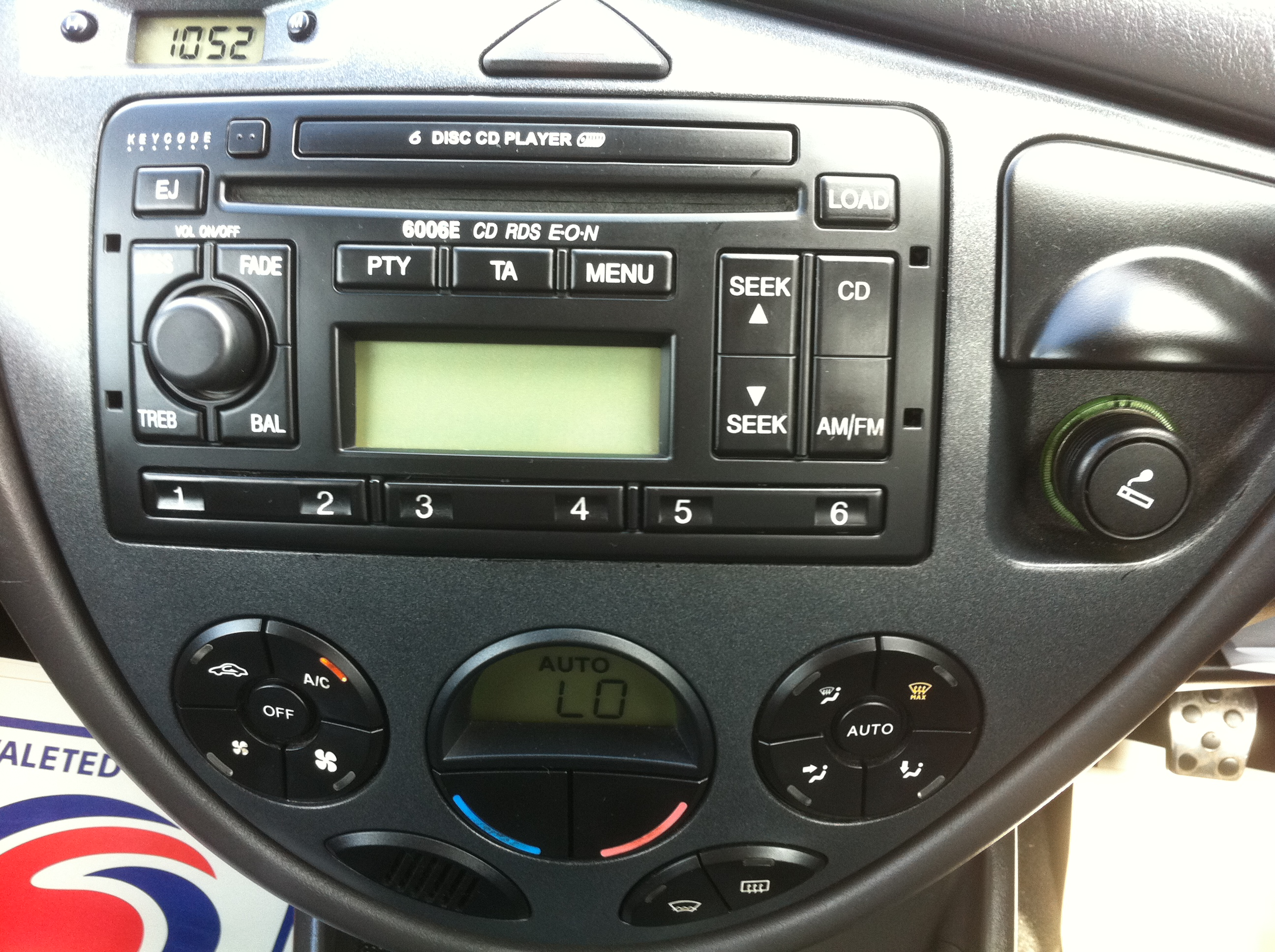 ba xr6 stereo wiring diagram cb radio antenna ford 6006 rds eon manual