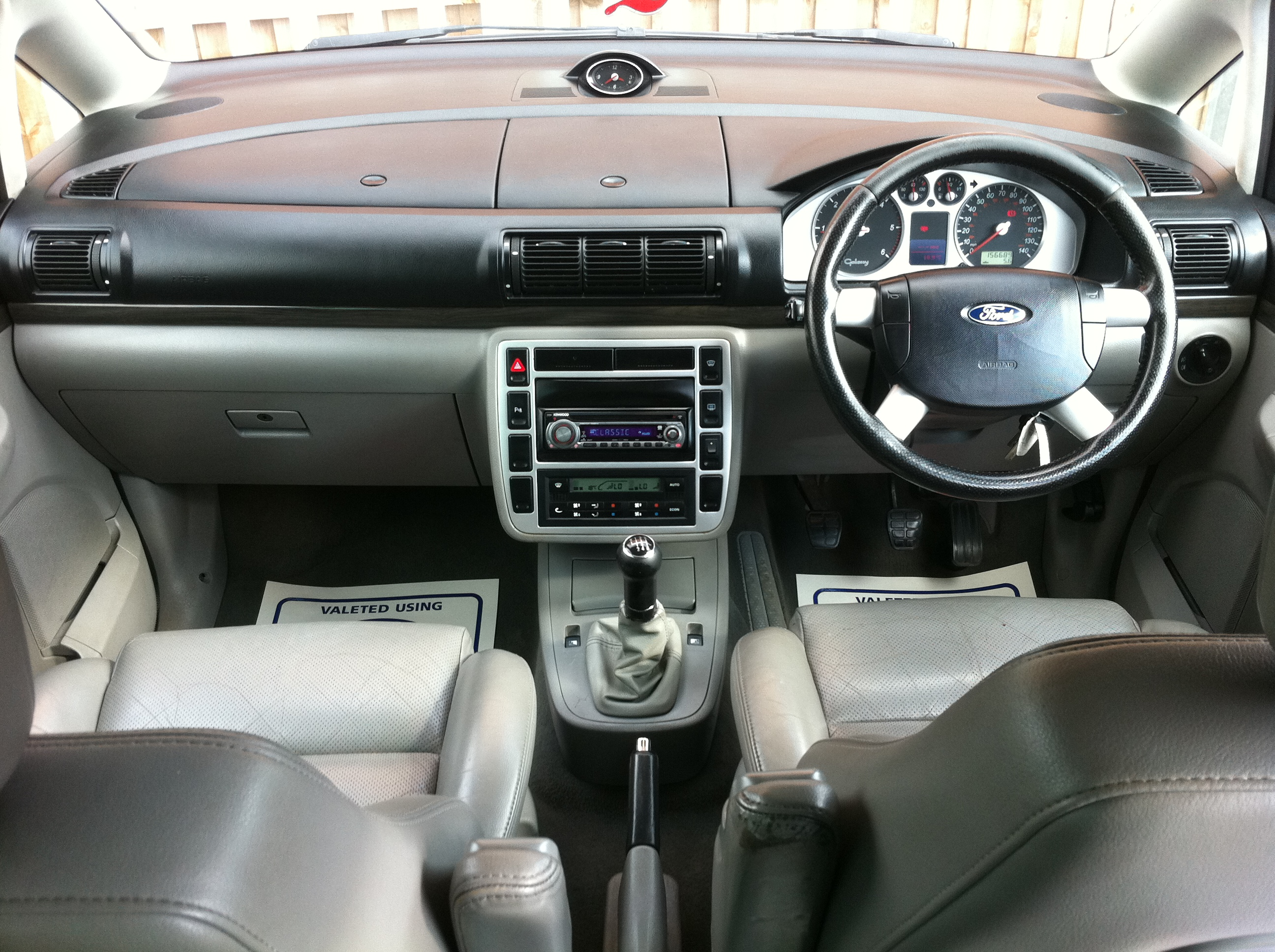 chairs on wheels uk vanguard furniture dining ford galaxy 1.9 td ghia 5dr [115 ps] full service history / 6 seats dvd grey leather ...