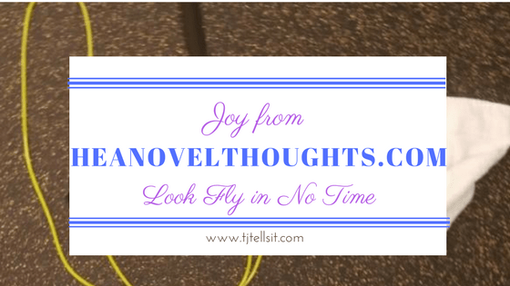 Check out my at home workout routine on HEANovelThoughts.com. Perfect for readers and fitness junkies alike.
