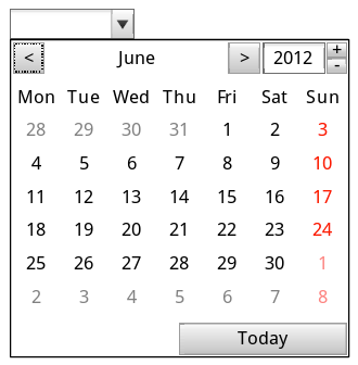 Creating a Native HTML 5 Datepicker with a Fallback to