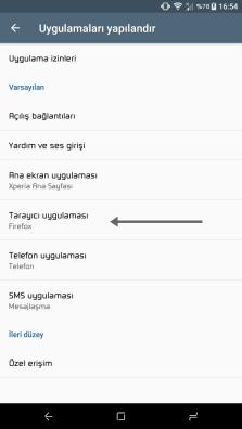 Android' de Telefonda Varsayılan Tarayıcı Değiştirme - Nasıl Yapılır? 3