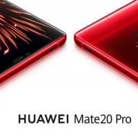 Kırmızı Renkli Huawei Mate 20 PRO Satışa Çıkıyor