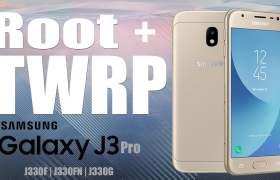 Samsung Galaxy J3 2017 Root Atma ve TWRP Yükleme