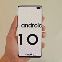 Galaxy S10 Plus Android 10 beta güncellemesini almaya başladı