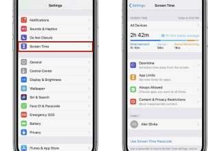 iPhone'da Ekran Süresini Kapatmak