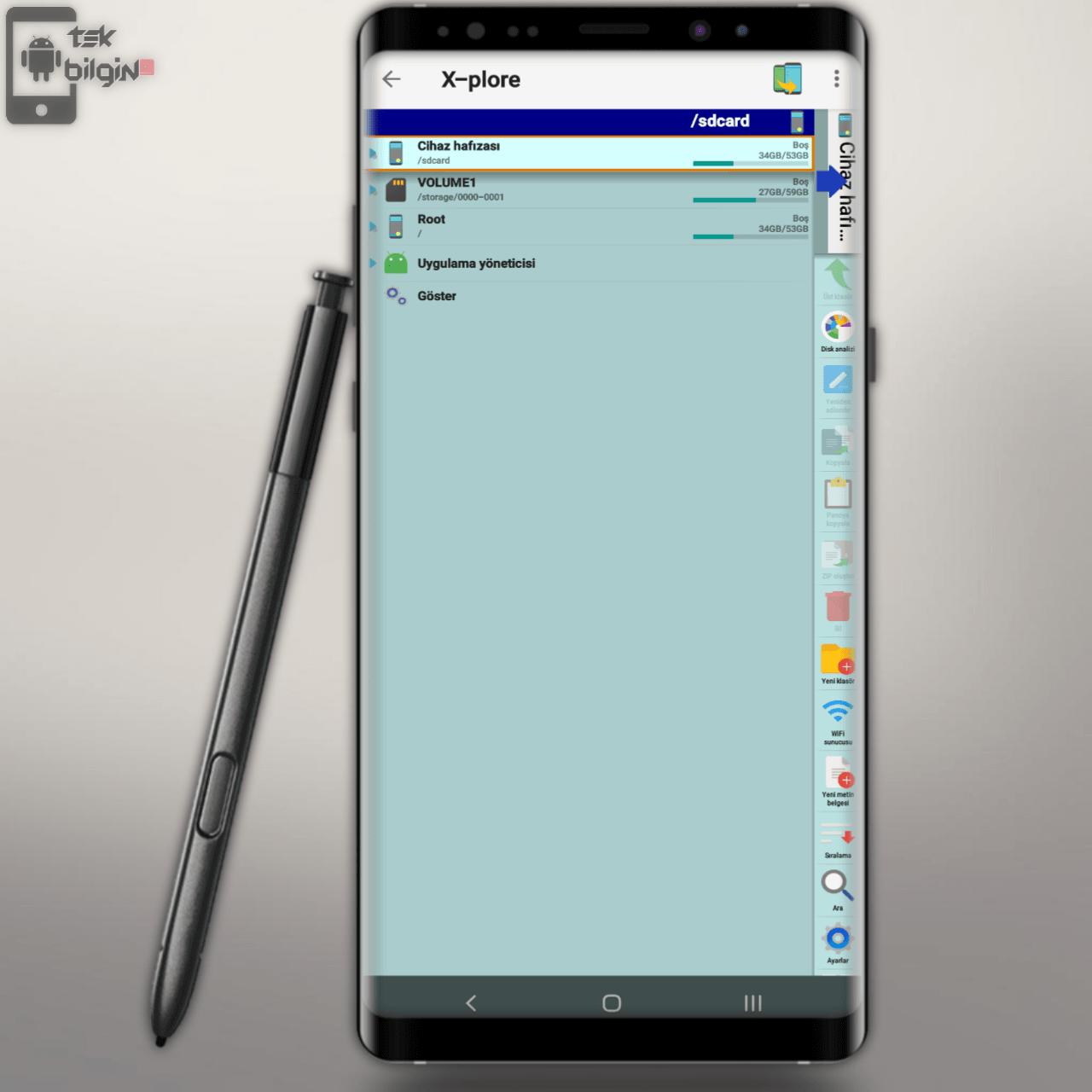 Android Cihazımda Kullandığım Uygulamalar | Dosya Yöneticisi Uygulaması  - X Plore 18