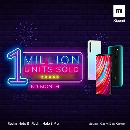 Redmi Note 8 serisi satış rakamı açıklandı 4