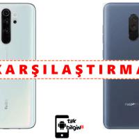 Xiaomi Redmi Note 8 Pro ve Xiaomi Pocophone F1 – Karşılaştırma
