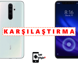 Xiaomi Redmi Note 8 Pro ve Xiaomi Mi 8 Pro – Karşılaştırma