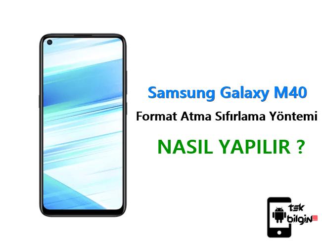 Samsung Galaxy M40 Format Atma Sıfırlama Yöntemi 18