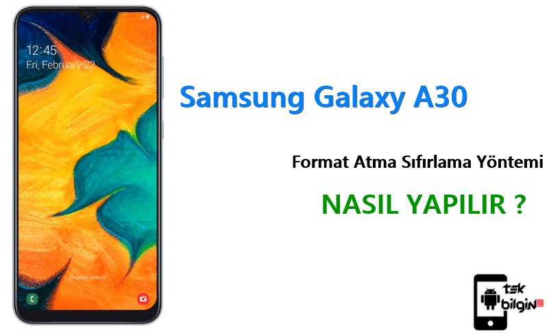 Samsung Galaxy A30 Format Atma Sıfırlama Yöntemi 23
