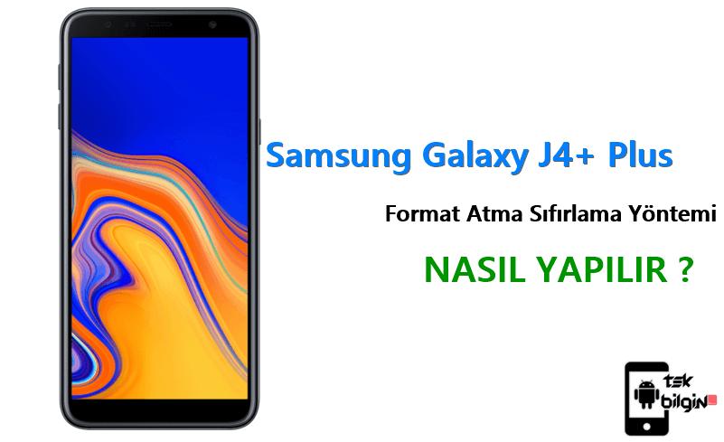 Samsung Galaxy J4+ Plus Format Atma Sıfırlama Yöntemi 18