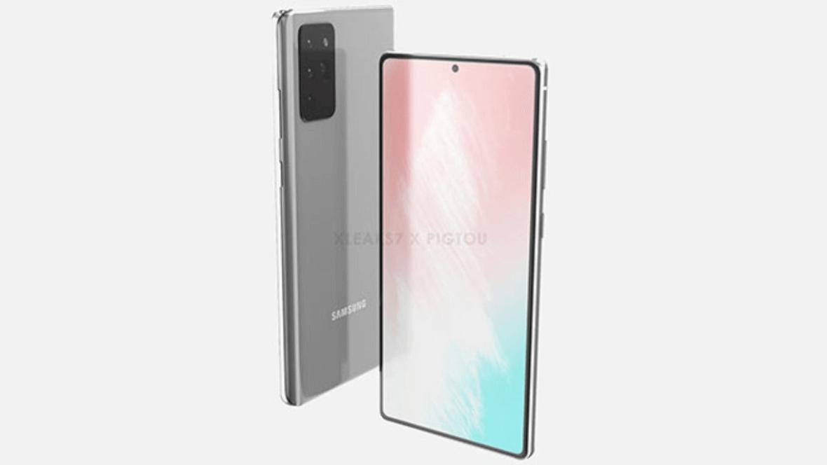 Samsung Galaxy Note 20 Tasarımı Ortaya Çıkmaya Başladı 7
