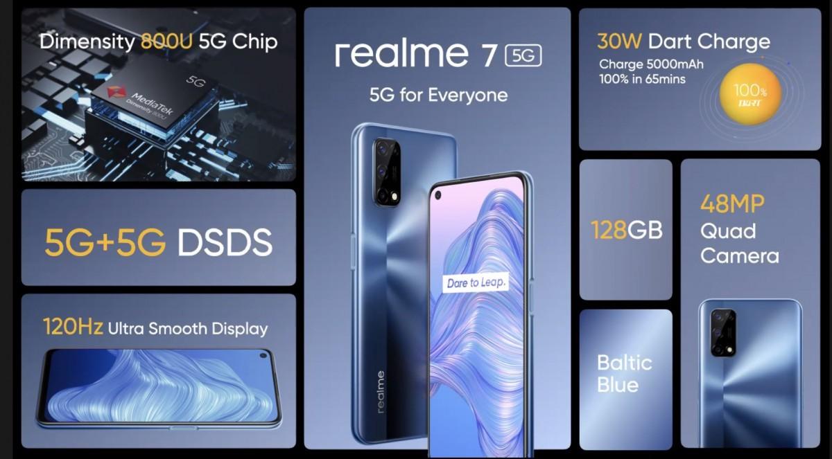 Realme 7 5G Resmi Olarak Duyuruldu 16