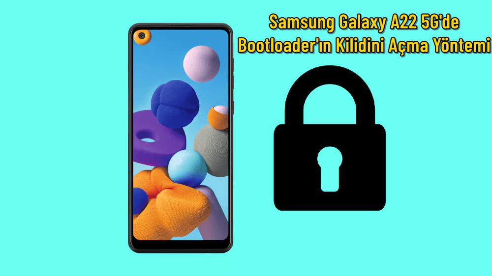 Samsung Galaxy A22 5G'de Bootloader'ın Kilidini Açma Yöntemi 10