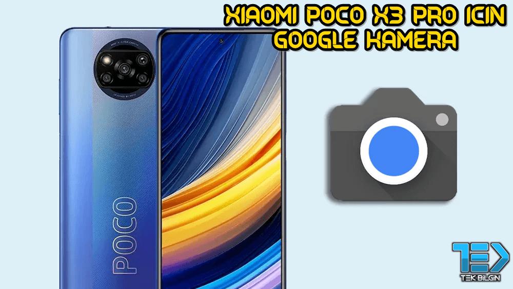 Xiaomi Poco X3 Pro için Google Kamera indir (GCam 8.1 APK) 33