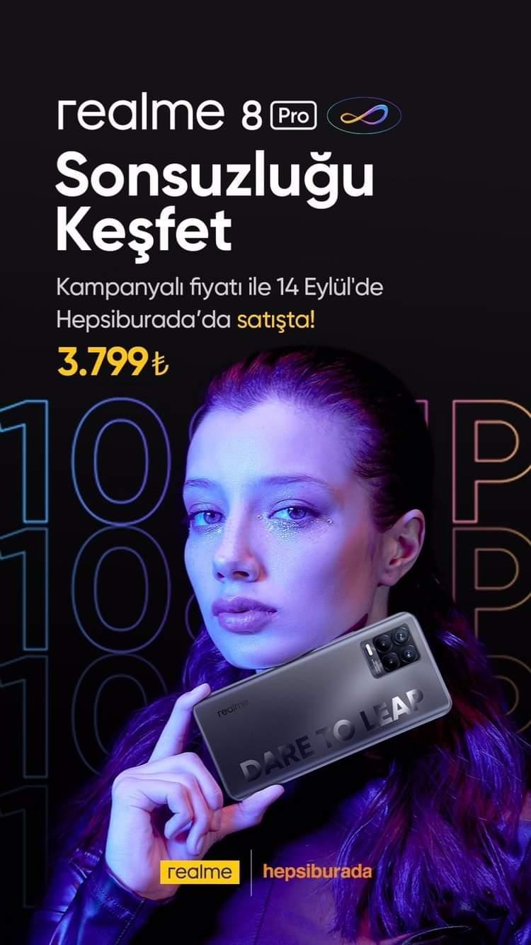 Realme 8 Pro'nun Türkiye Fiyatı Belli Oldu 8