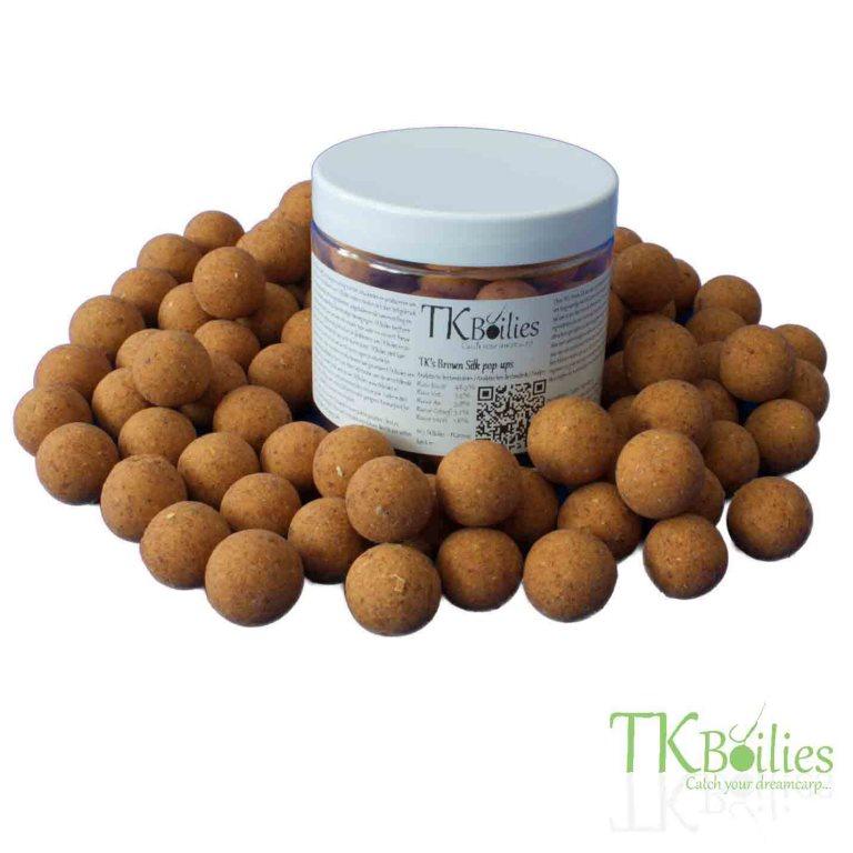 Brown Silk Popup