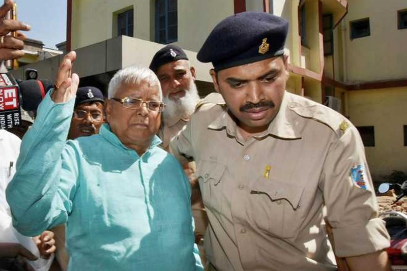 Lalu sentenced to 7 years in prison in fourth fodder scam case