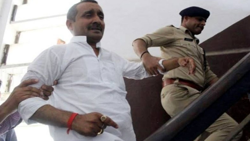 CBI books Unnao rape accused BJP MLA Kuldeep Sengar