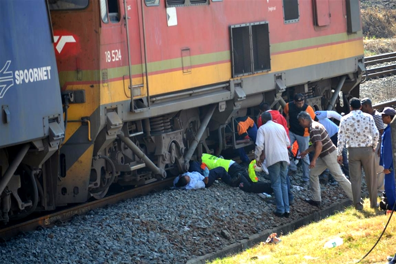 Woman railway employee killed under wheels of train