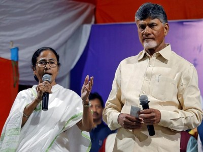 Chandrababu campaigning in west bengal for mamata-today telugu top news