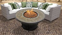 TK Classics :: Florence 4 Piece Outdoor Wicker Patio ...