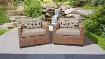 Laguna 2 Piece Outdoor Wicker Patio Furniture Set 02b