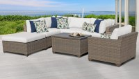 TK Classics :: Monterey 7 Piece Outdoor Wicker Patio ...