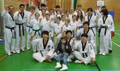 Teakwondo Füssen Lehrgang Universitätsteam Youngsan