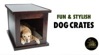 Fun & Stylish Dog Crates for Your Home - TK Hot Retrievers