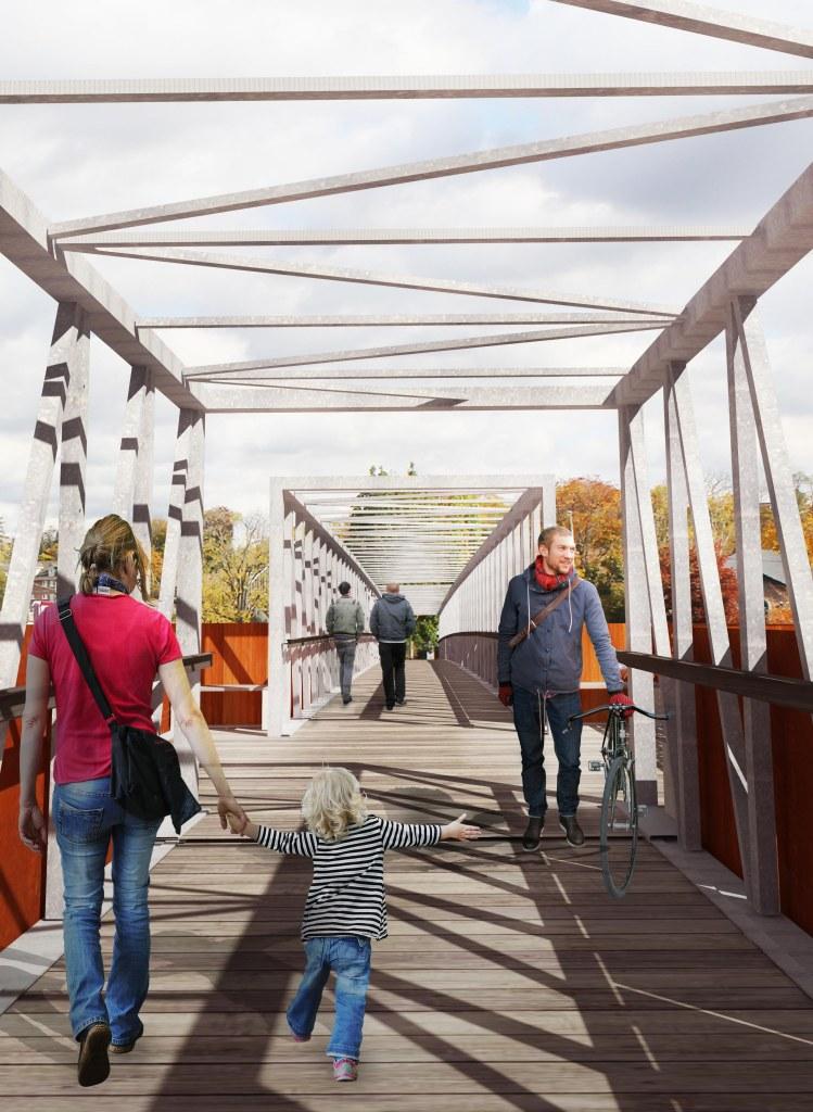 Grand River Pedestrian Bridge, 2017