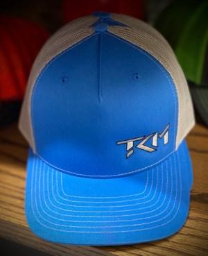 Cobalt Blue/Gray Trucker Snapback Hat