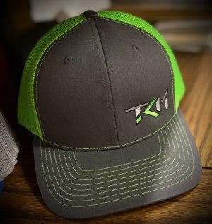 Charcoal/Neon Green Trucker Snapback
