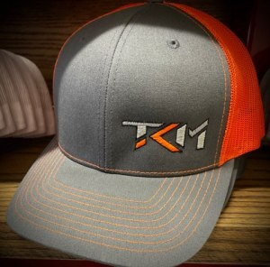 Charcoal/Orange Trucker Snapback Hat
