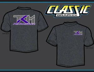 TKM Heather/Purple T-Shirt