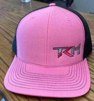 Pink/Black Trucker Snapback