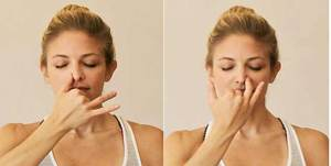 pranayam helps reduce sinus problems and improve respiratory system