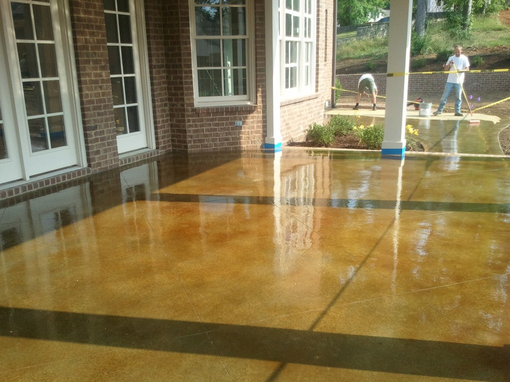 stained concrete nashville