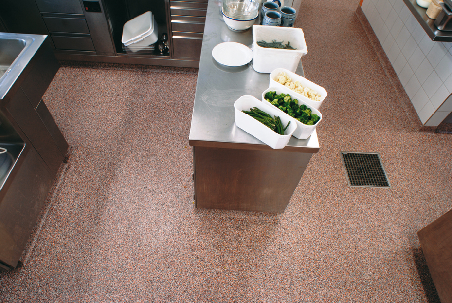 commercial kitchen flooring aid icemaker for kitchens tko concrete nashville tn
