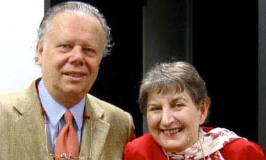 John Lahr and Mary Henderson, TLA Awards Ceremony, 2006 (Photo: Devyn Summy)