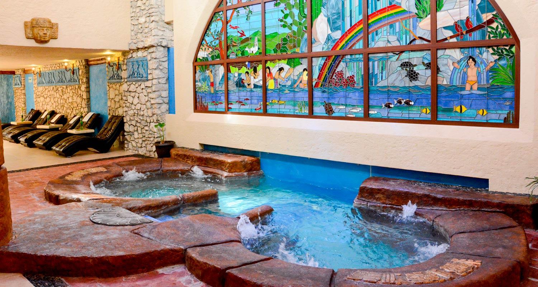 Spa Balneario Hidalgo aguas termales