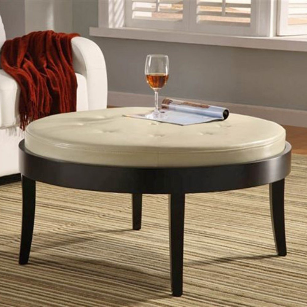 Ottoman Table Cushioned Coffee
