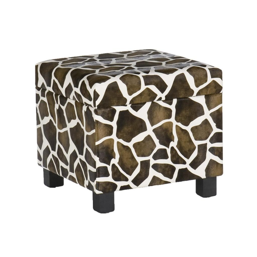 giraffe print chair wicker swivel rocker patio chairs 5 best zebra ottoman  no drab room any more tool box